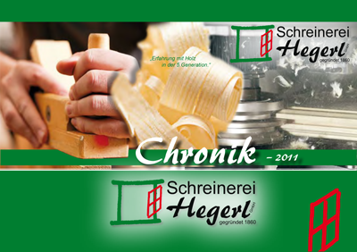 Download Chronik Schreinerei Hegerl